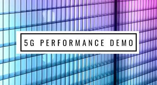 Radisys 5G Performance Demo at MWC2019