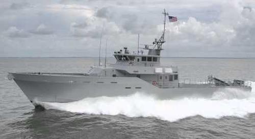 RiverHawk Fast Sea Frames 43 Meter AMP