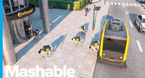This Robot Delivery Dog Can Bring Your Parcel Right To Your Doorstep