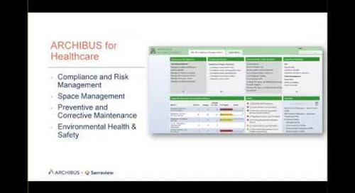 Healthcare Compliance with Archibus