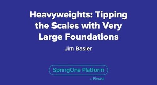 Heavyweights: Tipping the Scales with Very Large Foundations