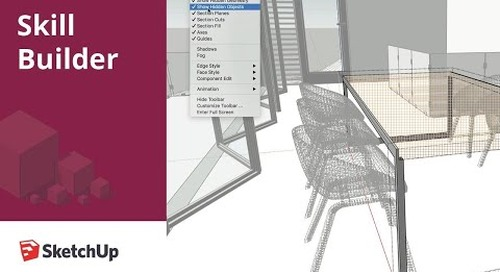 [Skill Builder] Hidden Geometry vs Objects in SketchUp Pro 2020