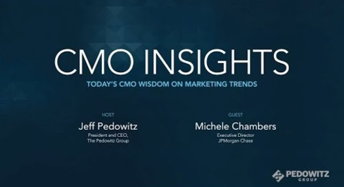 CMO Insights: Michele Chambers, former CMO, Anaconda