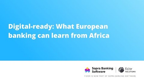 Dr. Michael Maier and Youssef Koun discuss how Europe can learn from African banking by adopting some of its most innovative practices