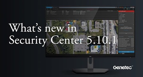 What's new in Security Center 5.10.1