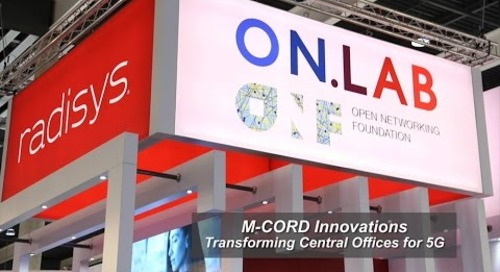 M-CORD Innovations: Transforming Central Offices for 5G