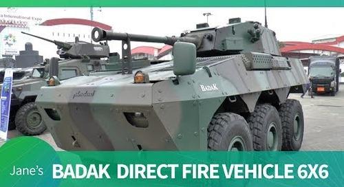 Indo Defence 2018: PT Pindad Badak Fire Support Vehicle