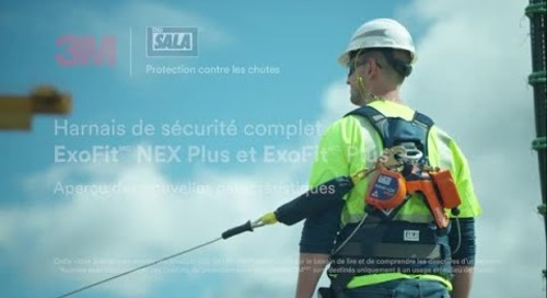 Le Harnais complet ExoFitMC Plus et ExoFit NEXMC Plus DBI-SALA® 3MMC