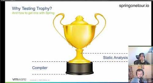 Tanzu.TV SpringOneTour - Win a Spring Testing Trophy Day 1