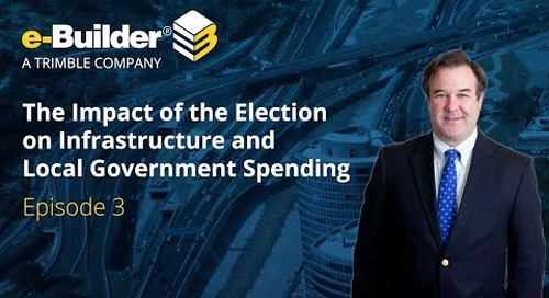 e-Builder: Norm Anderson - The Infrastructure Bill and the Impact on Government Spending Ep3