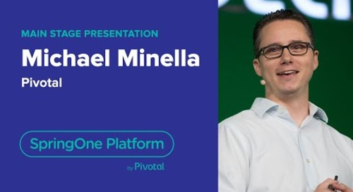 Michael Minella, Pivotal—Spring and Batch Workloads, SpringOne Platform 2018