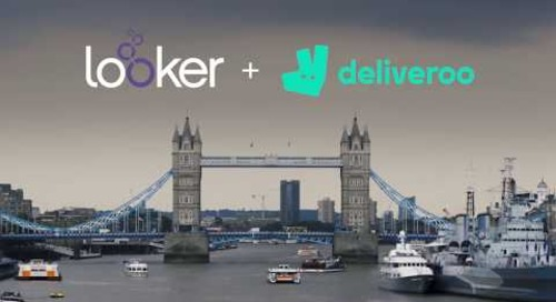 Deliveroo Transports Delicious Meals Faster with Looker