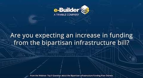 Q1: Top 5 Questions Answered About the Bipartisan Infrastructure Bill