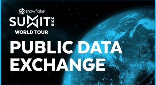 SUMMIT 2019 Public Data Exchange
