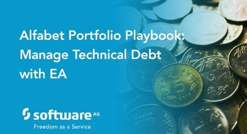 Alfabet Portfolio Playbook: Managing Technical Debt with EA