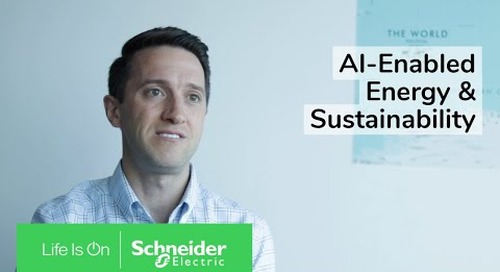 Optimizing Your Outcomes: AI-Enabled Energy & Sustainability Programs   Schneider Electric