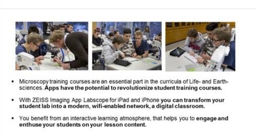 ZEISS Webinar: Microscopy Education in the Digital Age