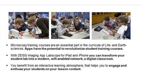 ZEISS Webinar: Microscopy Education in the Digital Age