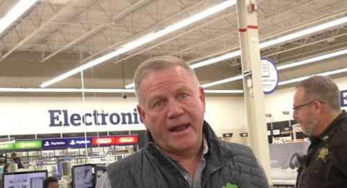 Brian Kelly On Preparation For Camping World Bowl