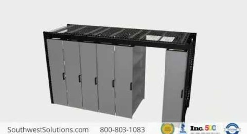 Rail-Less Suspended Mobile Sliding Track Shelving Storage Systems