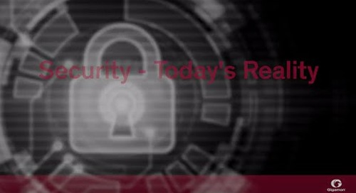 Security - Today's Reality