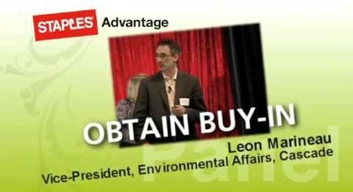 Staples Advantage Going Green to Build a Better Business Re-Cap Video,  Nov 2011