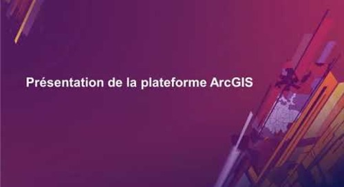 Rendre votre communauté plus résiliente au changement climatique à l'aide de la plateforme ArcGIS