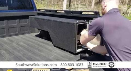 Pickup Truck Bed Gun Lockers for Secure & Discreet Weapon Storage