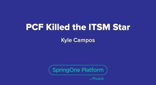 PCF Killed the ITSM Star