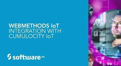 webMethods IoT Integration with Cumulocity IoT