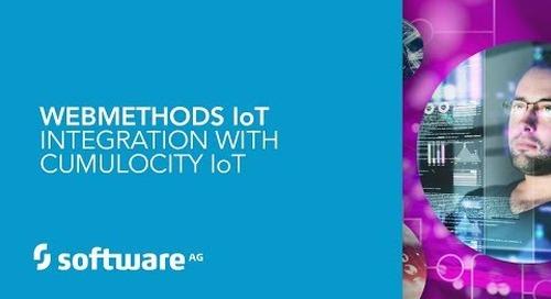 webMethods IoT Integration with Cumulocity IoT