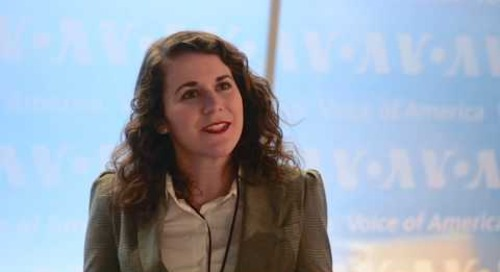 Brittney Welch '16 DNC Seminar and Internship Alum