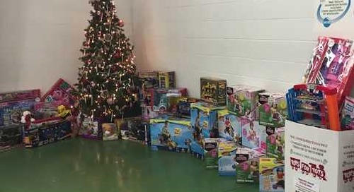 Tape Craft employees host Toys for Tots drive
