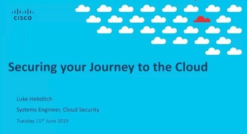 Secure your journey through the cloud