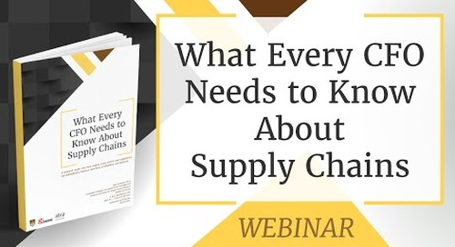 Webinar:  What Every CFO Needs to Know About Supply Chains
