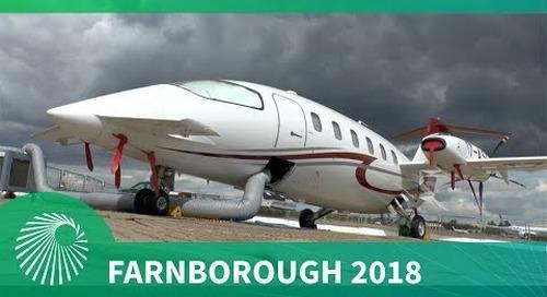 Farnborough 2018: Piaggio Aerospace P.180 Avanti EVO and P.1HH HammerHead