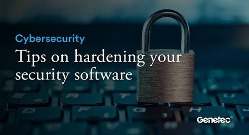 Cybersecurity - Hardening your security software