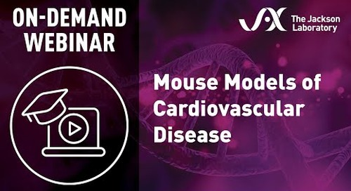 Mouse Models for Cardiovascular Disease