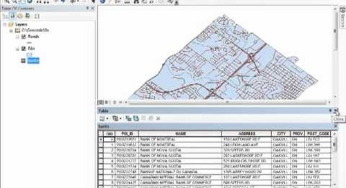 Geocoding in ArcGIS 10.x