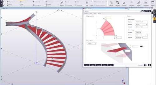 Spiral Staircase 2.0 - Recent Steel Development in Tekla Structures