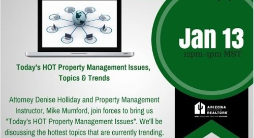 New Year, New Property Management Trends 1.13.2016