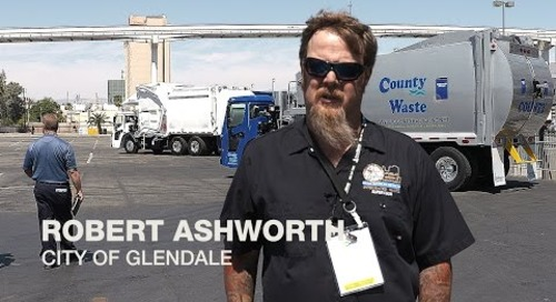 Waste Expo 2015 Mack LR Test Drive - Robert Ashworth, City of Glendale