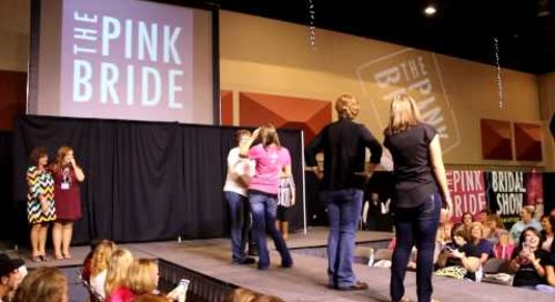 Mother Daughter Dance-Off at Tri-Cities Pink Bridal Show