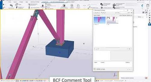 BCF Comment tool для обмена комментариями к модели в качестве облачного сервиса