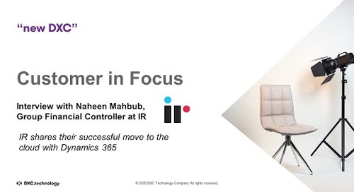Customer in Focus: Interview with Naheen Mahbub, GFC at IR