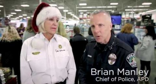 RetailMeNot Teamed Up with Austin's Police & Fire Chiefs for Charity