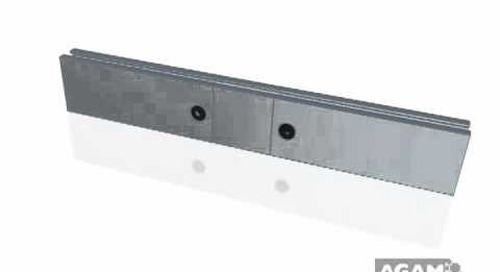 AGAM O.C. In-Line Connector 646 104 using Extrusion PH 1005
