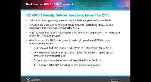 How Big can IRS ACA Penalty Assessments be?