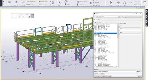 Introduction to the Template Editor in Tekla Structures