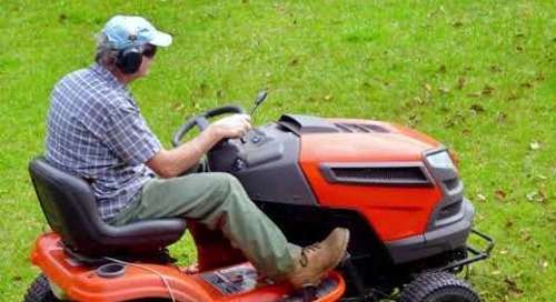 Stop Think Act | Lawnmower